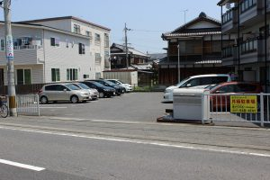 5.ホワイトレーク駐車場